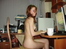 Nackte PC Amateur Babes